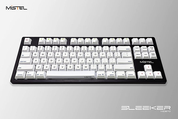 Mistel SLEEKER MD870 Backlit TKL Mechanical Keyboard
