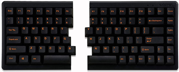 Mistel BAROCCO MD770 TKL Split Mechanical Keyboard