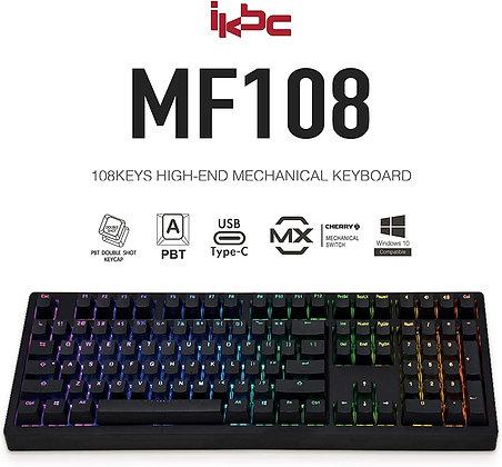 iKBC MF108 V.3 RGB LED Backlit Mechanical Keyboard