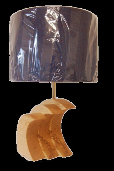 Hardwood Wave Lamp