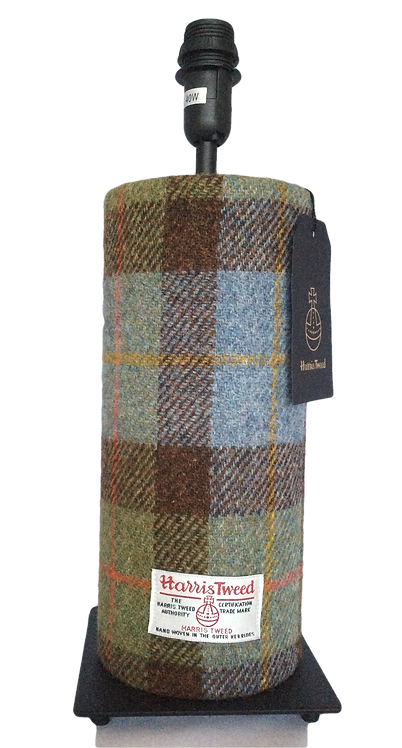 Harris Tweed Tube Lamp - Hunting Macleod