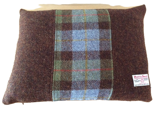 Harris Tweed Cushion Hunting Macleod/Brown