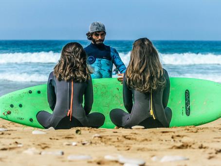 Ein Tag mit Wave Gypsy Surf & Yoga in Marokko