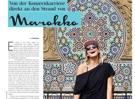 Die abenteuerliche Geschichte von Franky, Surfen und Marokko