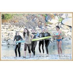 Monet Surfer Girls Photography Art