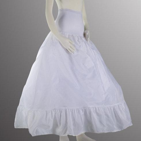 Full Bouffant Spandex Waist Petticoat  Small
