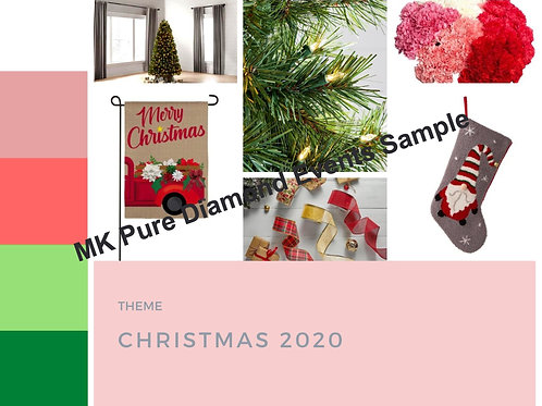 Pastel Christmas Mood Board_Theme Christmas