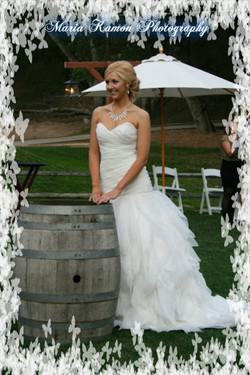 Wedding Barrel Vineyard Wedding