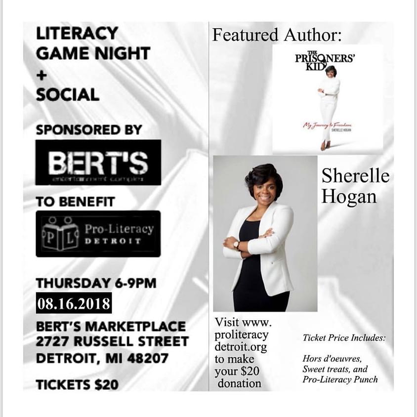 Literacy Game Night+ Pro Literacy Detroit