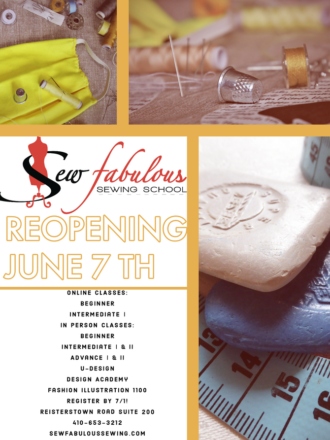 Re- Opening! JUNE 7TH!