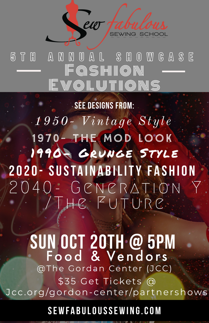 Join Us For an Evening of Fashion!