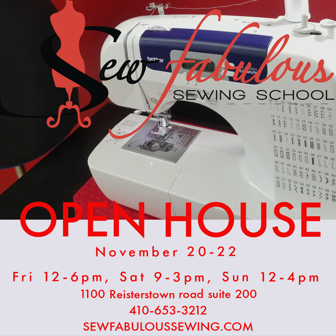 Open House! Nov 20-22
