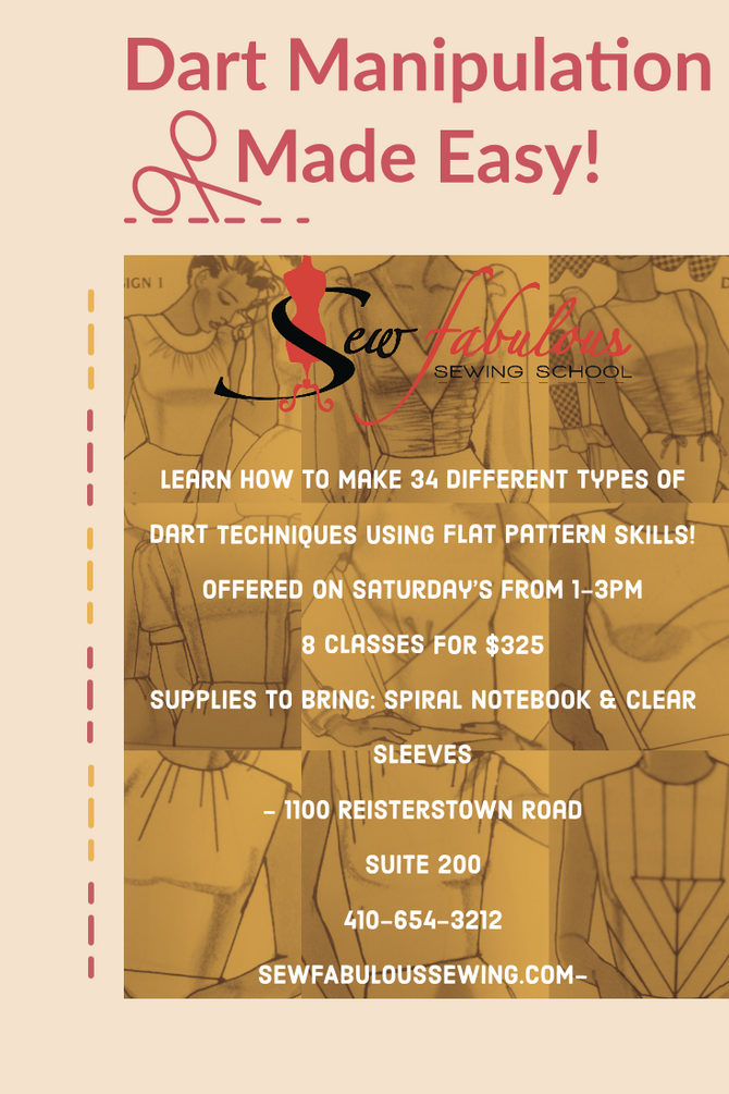 NEW SIP & SEW + CLASSES ADDED
