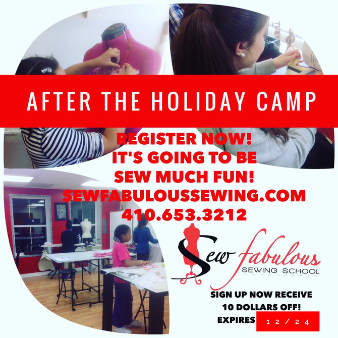After The Holiday's Camp!
