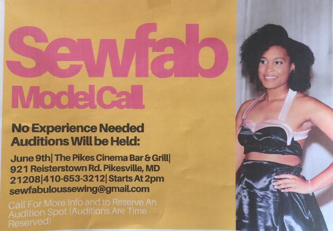 Sewfabulous Model Call!