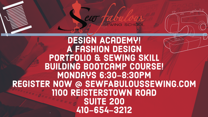Fashion Portfolio & Sewing Boot-camp