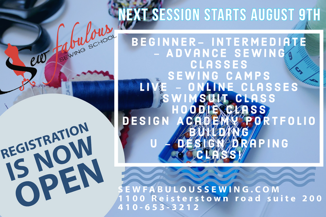 Next Session Starts August 9th Register Now!