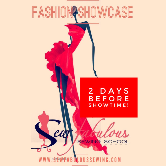 Sewfabulous Showcase 2018 is in 2 Days!