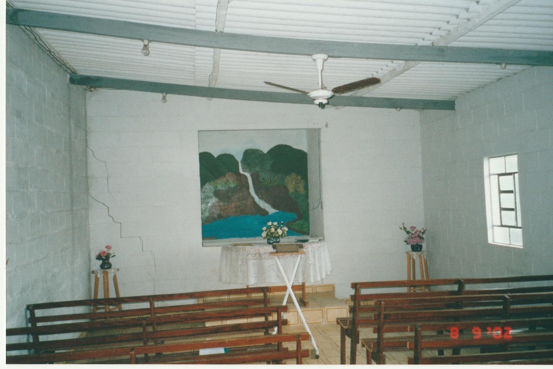 Small church near Santos