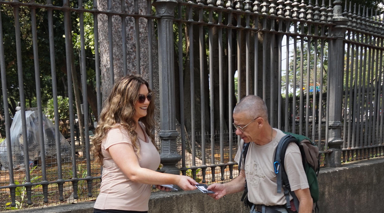 Street Evangelism in Rio