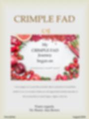 CRIMPLE FAD Newsletter Volume 1 - postca