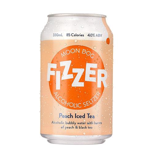 MOONDOG - Fizzer Hard Seltzer: Peach Iced Tea