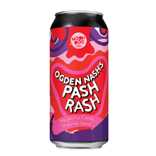 MOONDOG - Ogden Nash's Pash Rash Raspberry Imperial Stout