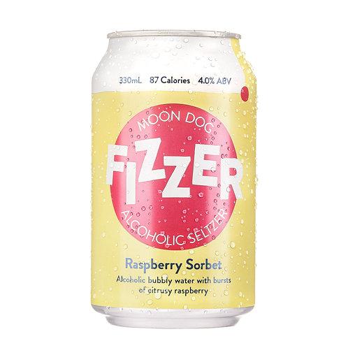 MOONDOG - Fizzer Hard Seltzer: Raspberry Sorbet