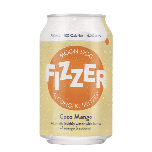 MOONDOG  - Fizzer Hard Seltzer: Coco Mango