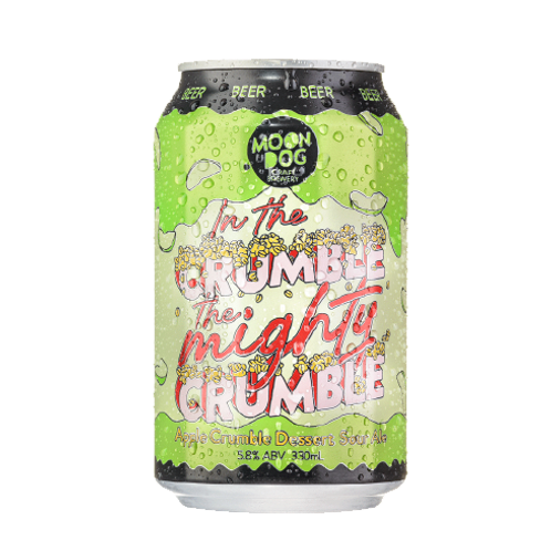 MOONDOG - In the Crumble, The Mighty Crumble Apple Crumble Sour Ale