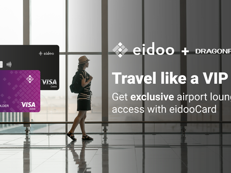Get Exclusive Airport Lounge Access With eidooCARD and Dragonpass