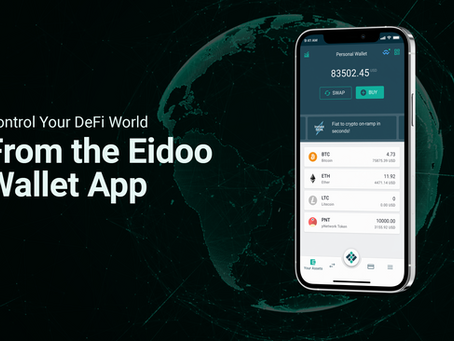 Control Your DeFi World From the Eidoo Wallet App