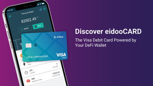 DISCOVER EIDOOCARD – THE VISA DEBIT CARD POWERED BY YOUR DEFI WALLET