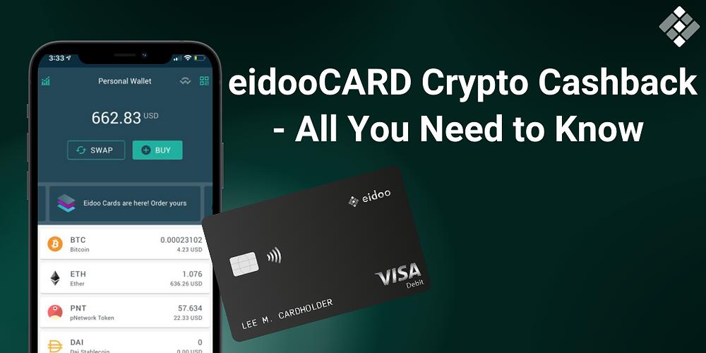 eidooCARD crypto cashback