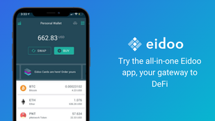 Try the All-in-One Eidoo App, Your Gateway to DeFi