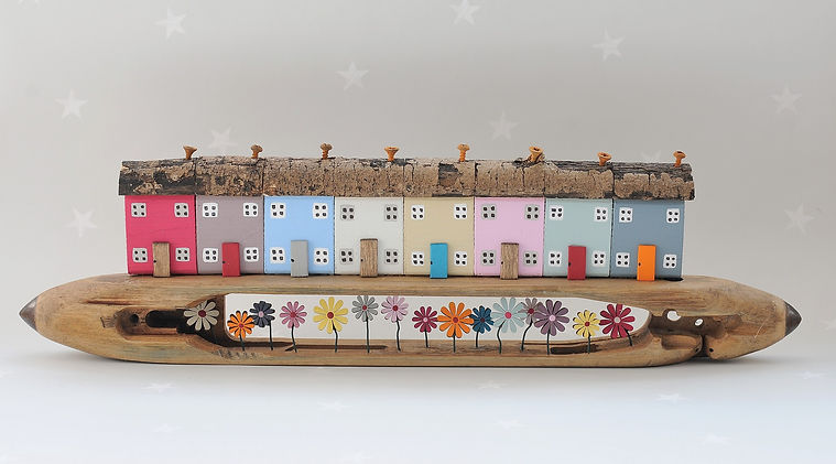 Shuttle Row by Louise Whiteley