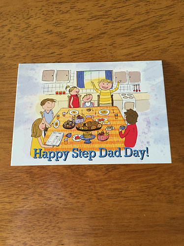 Step Dad Card