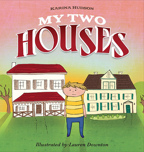 MY TWO HOUSES- soft cover book only