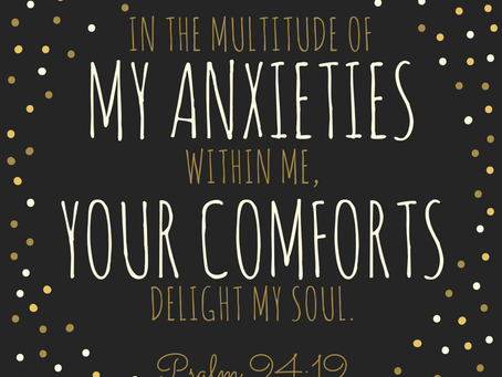 God's delightful comforts