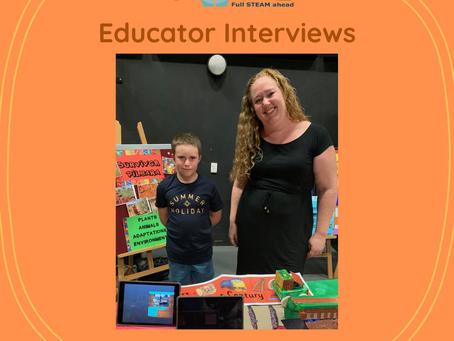 CoRE Educator Interview - Questions with Kiara