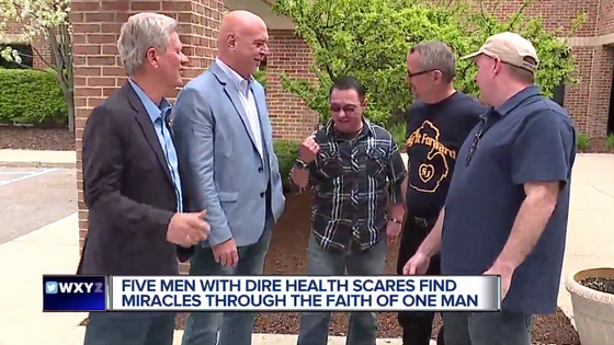 5 Guys and a Faith Healer - WXYZ