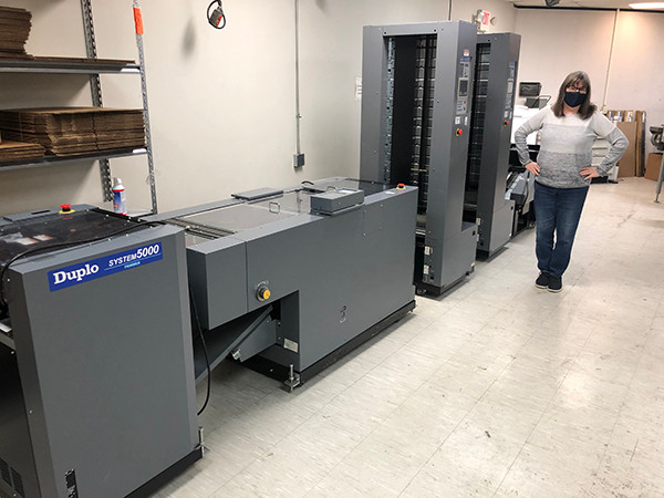 Duplo booklet maker system
