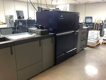 Konica Minolta C14000 digital press