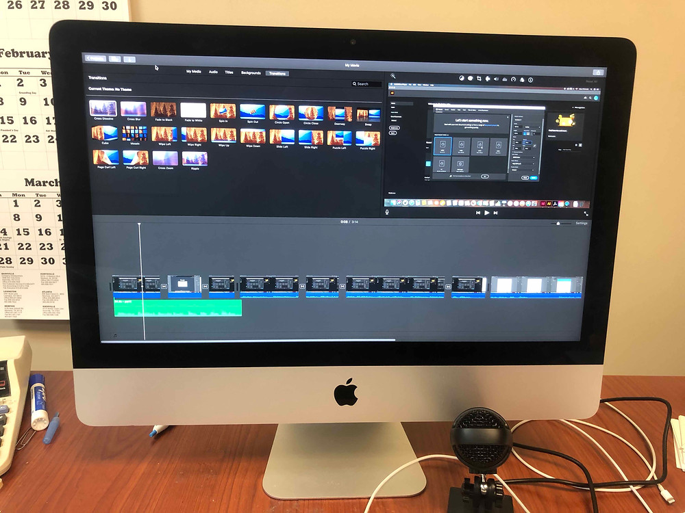 Video editing station