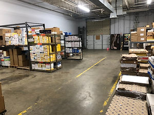 Memphis warehouse for storing printed products or fulfillment items