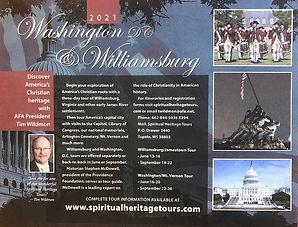 America's Christian Heritage flyer