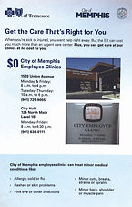 Blue Cross Blue Shield flu flyer