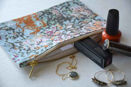 Mosaic Montage Zip Pouch