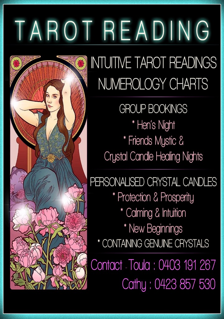 Crystal Candles & Tarot