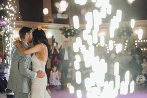 Who do you trust to provide the soundtrack for your big day? A Band? A DJ? Or both?